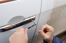 откроем машину при потере ключей